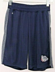 NEW Gonzaga Bulldogs Colosseum Navy Blue Pockets Athletic Shorts Youth M 12-14