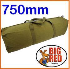 TENT PEG, GUY ROPE & POLE BAG 750mm long  -  HEAVY DUTY - 14 oz. CANVAS pole bag