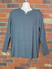 PD & Co Men's Long Sleeve Gray Shirt Sz: XL