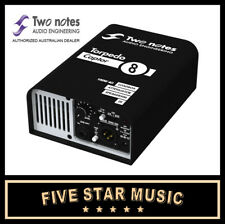 TWO NOTES TORPEDO CAPTOR REACTIVE LOADBOX 8 OHM LIVE - STUDIO SPEAKER SIMULATOR