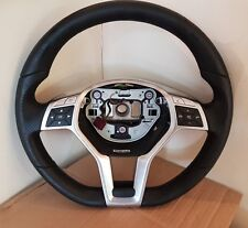 MERCEDES C CLASS STEERING WHEEL FLAT BOTTOM AMG SPORT 2013 - W204 W212 W172