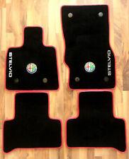 velours floor mats for Alfa Romeo Stelvio