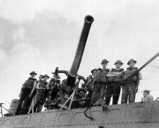 7059 USS Ward Gun Crew After Pearl Harbor Attack US Navy WWII World War Two WW2