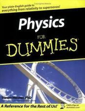 Physics For Dummies Steve Holzner Paperback Used - Very Good