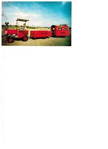 Ernest Petersen POKEY PETE & HIS TRAIN Postcard (Autographed)