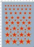 1/35 1/48 1/72 Russia Soviet Union Star Roundel Markings Model Kit Marine Decal