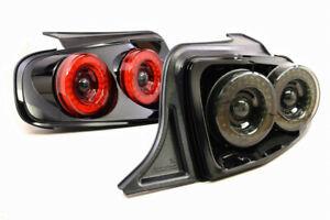 Morimoto XB LED Tail Lights Red/Smoked Plug And Play 2013-2014 Ford Mustang