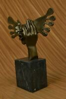 Fine Art Surreal bronze sculpture signed Salvador Dali  Hand Made Figurine Figur