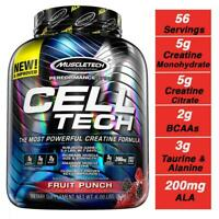 MuscleTech Cell Tech Creatine Monohydrate Formula Powder, 6 Pound