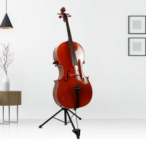 Foldable Cello Stand Sturdy Tripod Support Musical Instrument Accessories FL‑14