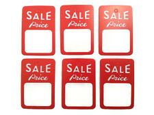 1000 pcs Red White Price Coupon Tag Special Sale Merchandise Sale price Tags