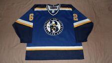 Killer Bees Blue #62 SP Men's Size Large Hockey Jersey