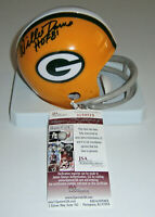 PACKERS Willie Davis signed mini helmet w/ HOF 81 JSA COA AUTO Autographed