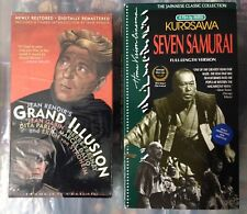 Grand Illusion & Seven Samurai (Janus/Home Vision) Vhs