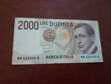 ITALY  - 2000 LIRE 1990 - BANKNOTES