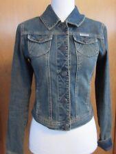 Women's waist length Denim Jean Jacket size S