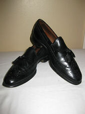 Allen Edmonds Sz 9D Manchester Black Tassel Loafer