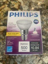 PHILIPS 471110 LED Lamp,500 lm, 7.0W,120V ( 6 Pack. ) 3000k