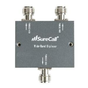 SC-DPLX-01 - SURECALL - Wide-band frequency-selective distribution device