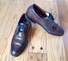 Vtg Weyenberg Massagic Mens Oxford Derby Pebble grain leather Shoes sz 8.5 D