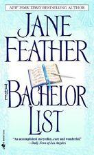 The Bachelor List: Duncan Sister Trilogy #1 - Jane Feather paperback VGC