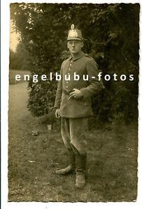 PORTRAIT-FOTO - BAYERN - TSCHAKO (Feldgrau) - Jäger, Luftschiffer, Telegraf