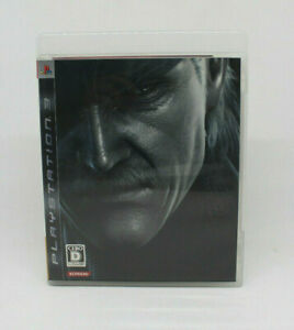 Sony PS3 PLAYSTATION - Metal Gear Solid 4 Konami Japanese Version