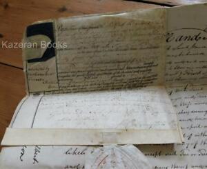 Antique Georgian Last Will & Testament 1794 William Deyman Week St Pancras Devon
