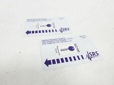 2X SRS STANFORD RESEARCH SYSTEM IGC100 PASSWORD CARD KEYCARD