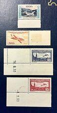 France Neufs ** 1930/54 *** Poste Aérienne *** N°s 5 6 & 32 33 ** Luxe V/détails