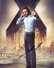 JAMES MCAVOY Signed Autographed X-MEN CHARLES XAVIER Photo