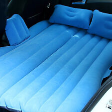 Travel Inflatable Bed Car Back Seat Air Bed Outdoor Mattress Rest Bed w/Pump NIB