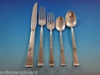 Classic Rose by Reed & Barton Sterling Silver Flatware Set 6 Service 30 Pieces