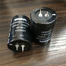 2pcs 1500uF 250V Kemet RIFA PEH506 35x50mm 250V1500uF Snap-in PSU Capacitor