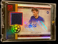 2020-21 TOPPS MUSEUM COLLECTION BILLY GILMOUR MUSEUM AUTO RELIC SP RC #'d 12/25!