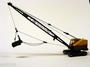 Bucyrus Erie 22B Dragline, Crane, Clam - 1/50 - EMD #T003 - Metal Tracks