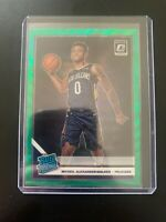 2019-20 PANINI OPTIC NICKEIL ALEXANDER-WALKER FANATICS GREEN WAVE HOLO PRIZM SP