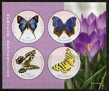 GAMBIA 2019 BUTTERFLIES SET OF THREE  SHEETS MINT NEVER HINGED