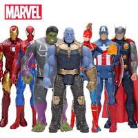 Avengers Figurine 30 cm Marvel Endgame Thanos Spiderman Hulk *Vendeur Francais*