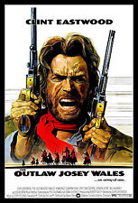 The Outlaw Josey Wales FRIDGE MAGNET 6x8 Clint Eastwood Magnetic Movie Poster