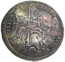 ROMA-Papal States (PIO VI) 1/2 Scudo 1796,RRR.