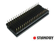 """10pcs FUJITSU FCN-714P040-AU/0, PLUG IDC, DIL 40 WAY, 0.1""""x0.6"""" (2.54x15.24mm)"""