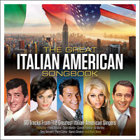 THE GREAT ITALIAN AMERICAN SONGBOOK - PERRY COMO CONNIE FRANCIS - 3 CDS - NEW!!