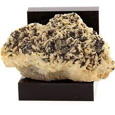 Tetrahedrite sur dolomite. 355.6 ct. Usclas-du-Bosc Quarry, France. Ultra Rare
