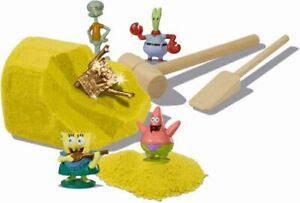 Nickelodeon SpongeBob Squarepants Sand Treasure Chests Face Display by- Simba