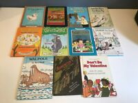 Lot of 11 Vintage Harper & Row Hardcover Childrens Books ~ I CAN READ