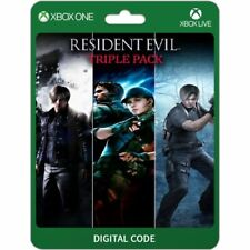 TRIPLE PACK RESIDENT EVIL(4,5,6) (NO CD/ NO KEY) XBOX ONE