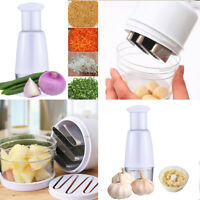 Vegetable Chopper Onion Garlic Food Pressing Cutter Slicer Peeler Dicer Mincer