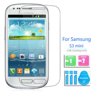 Genuine Tempered Glass Screen Protector For Samsung Galaxy S3 Mini