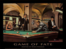Chris Consani Game of Fate Movie Stars Billards Print Poster